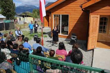 En Puerto Sanchez, club de adultos mayores dio por inaugurada su nueva sede