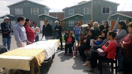 28 familias de Villa Patagonia optarán a ampliación de viviendas en Valdivia