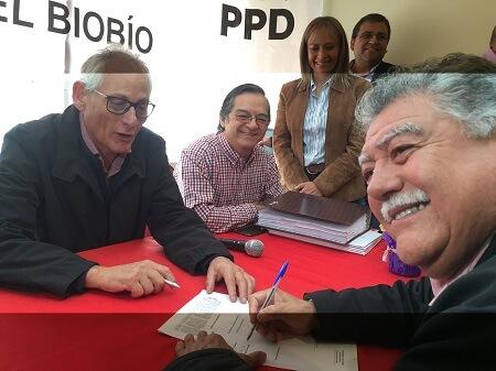 Alcalde de San Pedro de la Pazfichó por el Partido por la Democracia