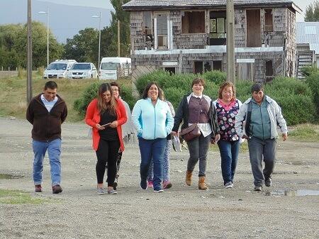 Alcaldesa de Chaitén se reunió con más un centenar de habitantes de la península de Huequi