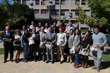 Autoridades destacan a estudiantes con Gratuidad 2017 en la Provincia de Biobío