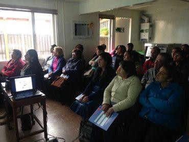 29 familias rurales de Valdivia se capacitan para producir sus propios alimentos