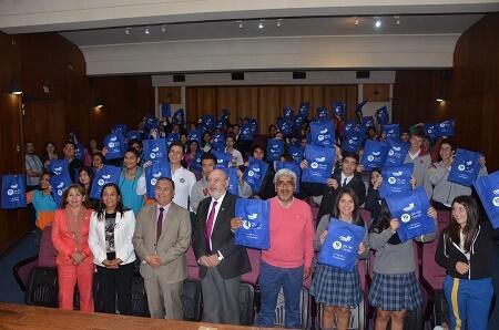 Dirigentes estudiantiles de 3 y 4 medio de Valdivia se comprometen con el Censo 2017
