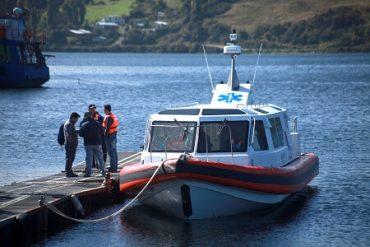 En Chiloé se realizan pruebas técnicas y de navegabilidad a nueva ambulancia marítima destinada a Quemchi