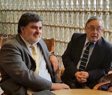 Diputado Morano se reunió con subsecretario Burrows a fin de eliminar la distinción legal entre obreros y trabajadores