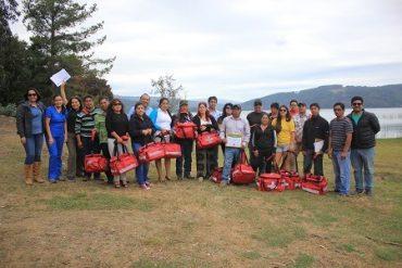 Emprendedores turísticos de la provincia de Arauco reciben capacitación en primeros auxilios