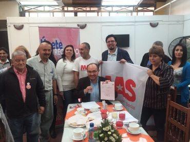 Gobernador de Ñuble Álvaro Miguieles ficha por el Partido MAS Región