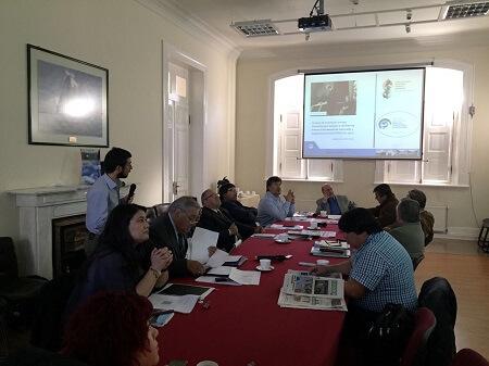 Investigador de Fundación CEQUA abordó importancia de los recursos hídricos en Comisión de Ciencia del Core de Magallanes