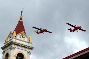 """IVª Brigada Aérea inauguró """"Mes del aire"""" junto a losmedios de comunicación de Magallanes"""