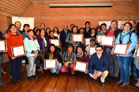 Organizaciones campesinas de Los Ríos fortalecen su gestión con apoyo de INDAP