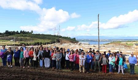 Construcción de Proyecto Alta Esperanza tiene 28 por ciento de avance y autoridades esperan entregar viviendas en noviembre