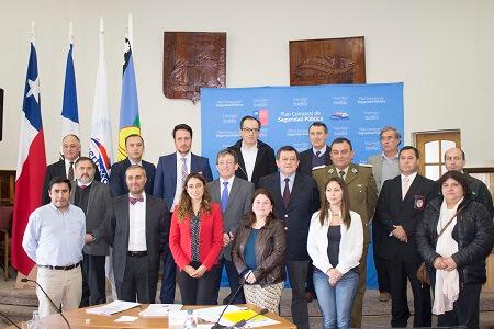 En Puerto Montt se constituyó el primer Consejo de Seguridad Pública de la región