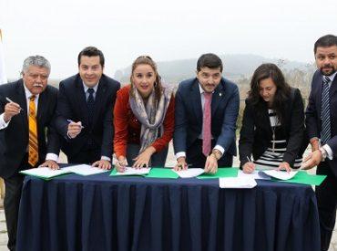 San Pedro de la Paz y seis municipios firmaronprotocolo de protección de los humedales