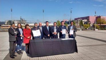 Gobierno Regional y transportes dan el primer paso para soterrar vía férrea y conectar Concepción con el río Biobío