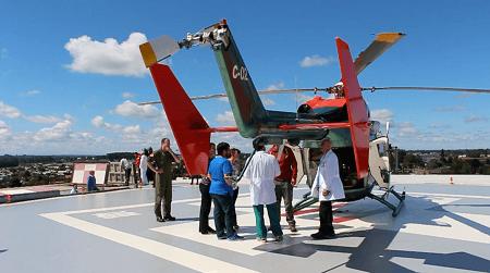 Exitoso traslado de paciente desde Caleta Milagros a Hospital Base San José Osorno