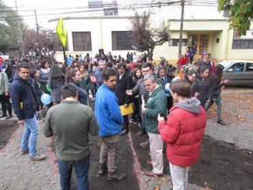Alianza entre Municipalidad de Temuco y Universidad Mayor motivan intervenciones urbanas en Balmaceda
