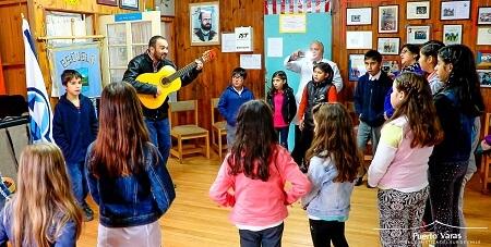 Alumnos de cinco escuelas conformarán el primer Coro y Orquesta Rural de Puerto Varas