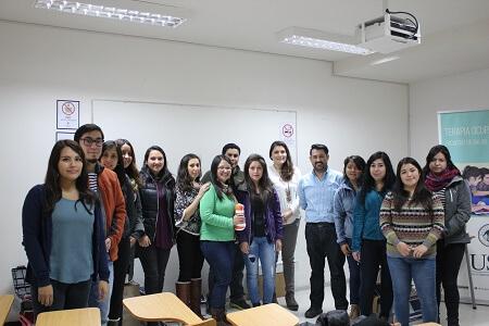 UST realizó curso de actualización para alumnos de Terapia Ocupacional