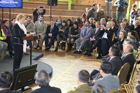 """Consejero regional, Gustavo Villarroel: """"La Universidad de Aysén hoy es  una realidad que nos pertenece"""""""