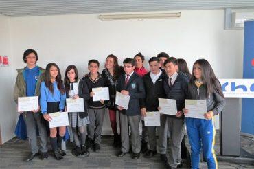 CChC Valdivia premia a estudiantes por su rendimiento académico