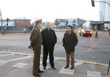Debutó vías reversibles en Osorno