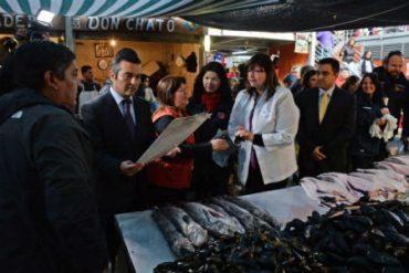 Desde Mercado Presidente Ibañez llamaron a consumir productos del mar en lugares autorizados