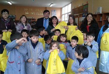 En Concepción: estudiantes de Educación Parvularia del Colegio Gran Bretaña celebran el Día Internacional de Libro