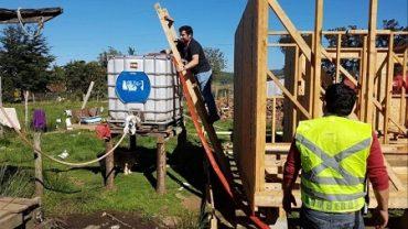 Más de 85 mil litros de agua entregó la Municipalidad de Castro para paliar el grave déficit hídrico