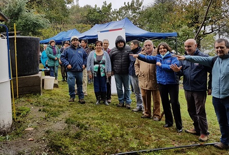 Familias de la provincia de Valdivia mejoran su economía familiar, gracias al uso de biogás