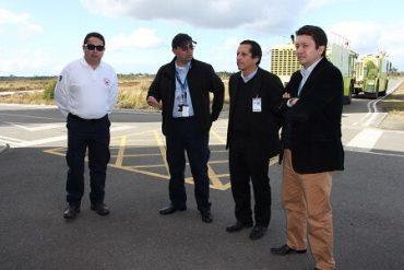 Gobernador de Chiloé conoce Plan de Emergencia del Aeródromo Mocopulli