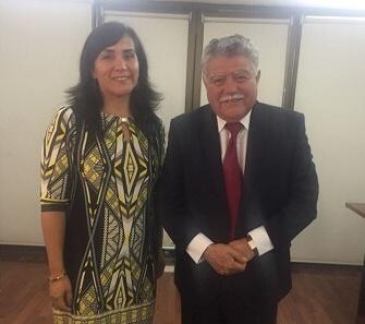 Ministra de Transporte asumió compromiso de hacer gestiones en Hacienda y EFE para realizar inversiones de mejora en el Biotrén