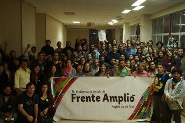 Más de un centenar de personas participaron en primer encuentro regional del Frente Amplio