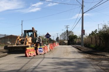 Cerca de 20 millones de inversión destinó municipio de San Pedro para reparar socavón en Michaihue