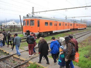 Tren turístico corto Laja inicia nueva temporada de viajes