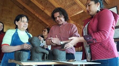 A la usanza campesina Quinchamalí celebró Día del Patrimonio