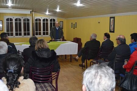 Con gran marco de público diputado Berger (RN) realiza primer encuentro de camaradería en La Unión