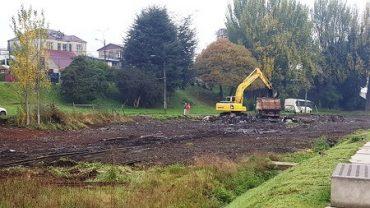 Intendente Ricardo Millán informó que ya se realizan trabajos de limpieza en sector donde se emplazará futuro Barrio Cívico en Valdivia