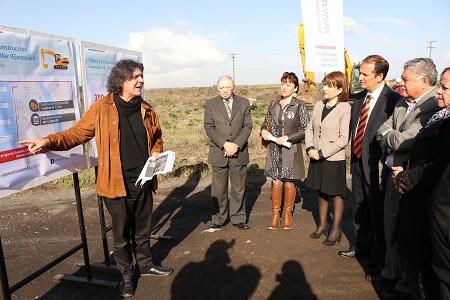 Comenzó construcción de 4 kilómetros de la Costanera Borde Mar en San Pedro de la Paz