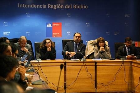 Comité Regional Operativo de Emergencia del Biobío aborda puntos críticos en Plan Invierno 2017