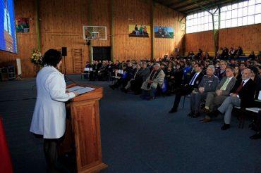Amplia participación ciudadana marcó la cuenta pública de la Gobernación de Valdivia