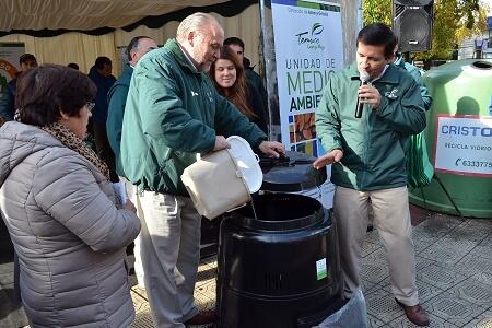 Temuco suma esfuerzos en el Día Mundial del Reciclaje