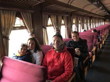 En Región del Bío Bío, tren turístico inicia las celebraciones por el día del Patrimonio