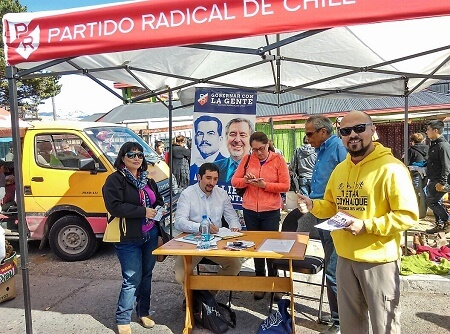 """Jorge Calderón, vocero regional Aysén: """"Estamos fortaleciendo grupos de trabajo para recolectar firmas que respaldan candidatura presidencial deAlejandro Guillier"""""""
