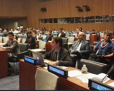 Fundación Aitue expone en foro sobre pueblos originarios en Naciones Unidas