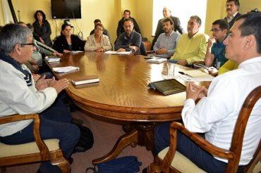 Gobierno Informó a Dirigentes Situación Actual de Construcción del Parque Catrico en Valdivia