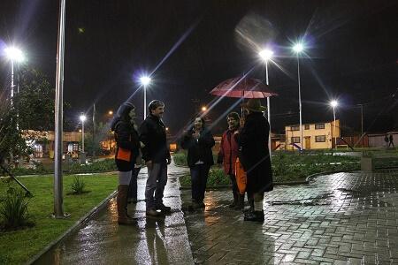 Inauguran Plaza Hilcker en Valdivia destacando apoyoa la seguridad del sector