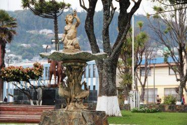 Consejo regional del Bío Bío aprueba recursos para conservar la pileta del «Niño pez»: el tercer monumento de Lebu recibió declaratoria oficial