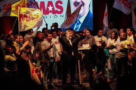 MAS Región celebra octavo aniversario y proclama a Alejandro Guillier como su abanderado presidencial