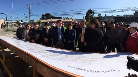 En septiembre se inaugurará nuevo tramo de corredor de transporte público de Coronel