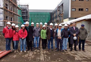 Dirección de Arquitectura avanza con obras de reposición de nuevo Liceo e Internado C-14 de Lonquimay